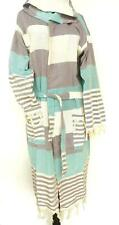 SOFT Turkish Pestemal Hooded Cotton Bathrobe Unisex
