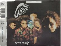 THE CURE never enough CD MAXI uk