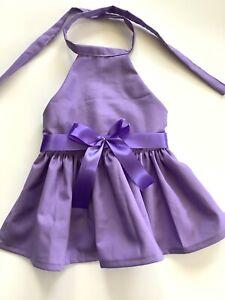 Handmade Purple Summer Doggy dress M