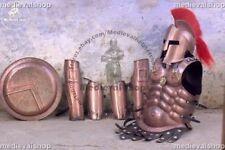 X-Mas 300 Helmet+Muscle Armor Jacket Medieval Armor Set Spartan Helmet Leg G