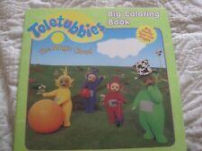 New ListingTeletubbies Big Coloring Book - The Magic Cloud - new. 1998 green