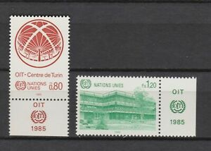 s10768) UNITED NATIONS (GENEVE) MNH** 1985, Turin center 2v + LAB
