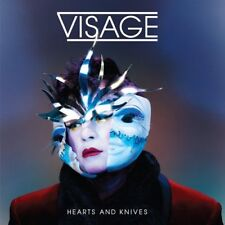 Visage : Hearts and Knives CD (2013) ***NEW*** FREE Shipping, Save £s