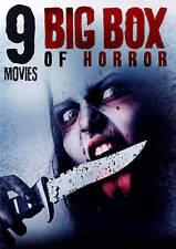 Big Box of Horror: 9 Movies (DVD, 2015, 2-Disc Set)