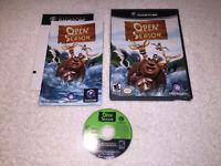 Open Season (Nintendo GameCube) Black Label Original Release Complete LN Mint!