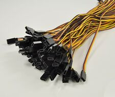 """3X RC Helicopter/Airplane Model 90cm 900mm /35.5"""" Servo Extension cord Lead Wire"""