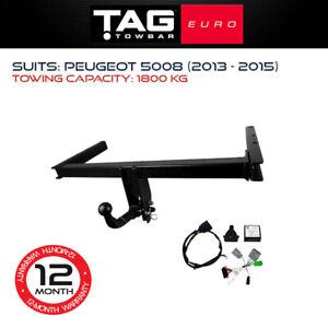 TAG Euro Towbar Fits Peugeot 5008 2013-2015 Towing Capacity 1800Kg 4x4 Exterior