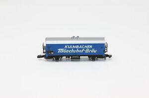 Z Scale Marklin 8603 KULMBACHER Monchshof-Brau Reefer Beer Car