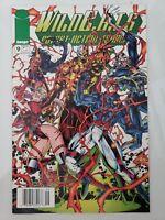 WILDCATS #9 (1993) IMAGE COMICS JIM LEE ART! HARD TOO FIND NEWSSTAND VARIANT ED.