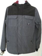 Metal Mulisha Men's Lined Jacket Gray Size Medium