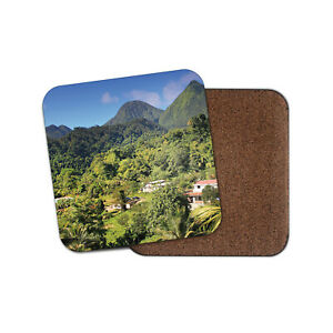 Dominican Republic Coaster - Caribbean Pico Duarte Forest Woods Fun Gift #16246