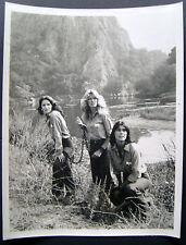FARRAH FAWCETT (CHARLIE'S ANGELS) ORIG VINTAGE TV PROMO PHOTO