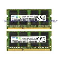 New Samsung 16GB 2X8GB PC3-10600 DDR3-1333MHz 204pin Sodimm Laptop Memory RAM