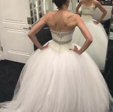 2dfc9c333d1b Tulle Ball Gown/Duchess Vera Wang Bridal Wedding Dresses for sale | eBay