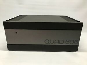 Vintage QUAD 606 Stereo Power Amplifier Boxed