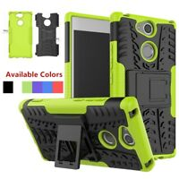 For Sony Xperia XA2 Hybrid Shockproof Rugged Armor Hybrid Rubber TPU Case Cover