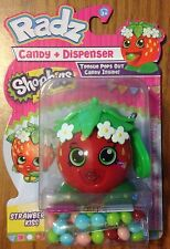 ! Shopkins Radz Candy Dispenser! Strawberry Kiss!