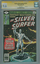 Fantasy Masterpieces Vol. 2 #1 CGC 9.6 SS Stan Lee, Reprints Silver Surfer #1