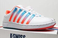 NIB K-SWISS Classic Men's White Leather Heritage Gradient 10.5 Low Top Sneakers