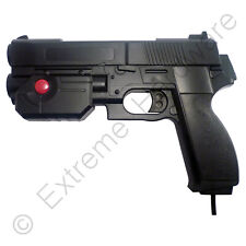 Ultimarc AimTrak Black Arcade Recoil Light Gun with Line of Sight Aiming LCD CRT