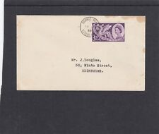 GB 1958 Empire & Commonwealth Games FDC First Day Cover Grange Road Edinburgh hs