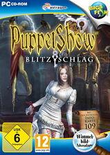 PUPPET SHOW * BLITZSCHLAG * WIMMELBILD-SPIEL  PC CD-ROM