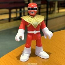 Fisher-Price Imaginext Power Rangers Red Ranger Action Figure Collection Boy Toy