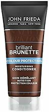 2 X John Frieda Brilliant Brunette Colour Protecting Conditioner - 50ml