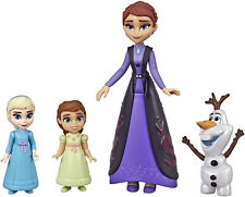 Disney Frozen 2 Family Set Elsa and Anna Dolls with Queen Iduna Doll and Olaf
