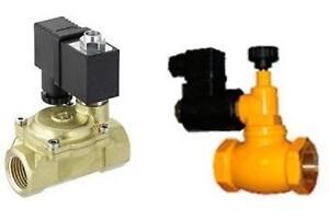 Valvola motorizzata elettrovalvola per acqua o gas normalmente aperta o chiusa