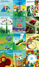 2014 FIFA WORLD CUP BRAZIL™ - ALL 12 HOST CITY OFFICIAL POSTERS