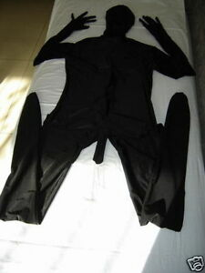 Full body  spandex zentai suit with Men's penis S-XXL