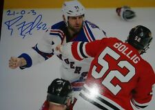 Brandon Bollig Chicago Blackhawks 8x10 autographed photo with C.O.A.