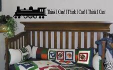 Wall Decal Train Decal I Think I Can With Train Graphic Kids Room Decor Vinyl