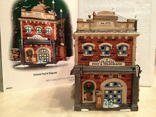 Dept 56 - New England Village - Colonial Post & Telegraph