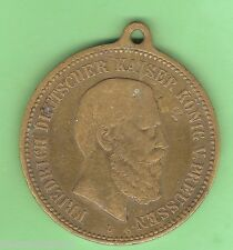 #D63. 1888 GERMAN MEDAL FOR DEATH OF FREDERICK III