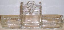 CENTRE DE TABLE VASE CRISTAL TAILLE ART DECO 1920 1930 A VOIR