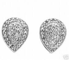 New 14K WG Diamond Earrings