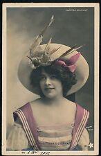 Miss Eva DOUGLAS - Carte-Photo Artiste 1900 - 47
