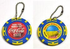Coca-Cola Catena chiave dal Giappone Key Chain FIFA World Cup 2006 Ucraina