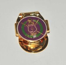 Omega Psi Phi Golf Hat Clip-on Ball Marker Purple
