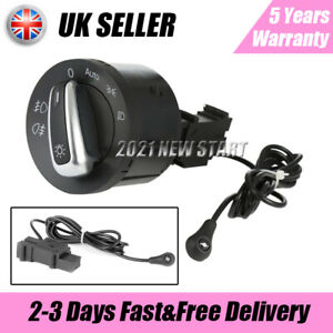For VW Golf MK5 Passat Car Auto Headlight Fog Light Switch & Sensor #5ND941431B