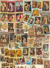 100 verschiedene Briefmarken Weihnachten  Christmas Navidad Natal noel  meist **