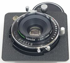 TOPCOR 75mm 5.6 + Seiko-SLV - Horseman 6x9 Lensboard
