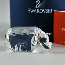 swarovski crystal originale rinoceronte 622941 animali cristallo authentique