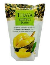 Thaya Premium Freeze Dried Durian Monthong King of Fruit 100% Natural 40 G