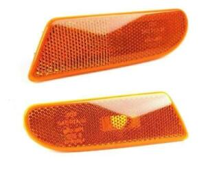 GENUINE MERCEDES S-Class W220 00-06 USA type Side Turn Signal Marker Lights Pair