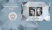2012 Australia Unc 50c Coin Diamond Jubilee Queen Elizabeth II - PNC RAM