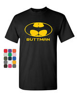 Buttman Funny Parody T-Shirt Humor Booty Ass Drinking Tee Shirt