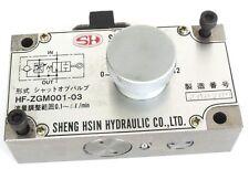 Sheng Hsin Hf-Zgm001-03 Valve Hfzgm00103